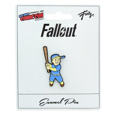 Just Funky Fallout Collectibles | Vault Boy Big Leagues Perk Collector's Edition Enamel Pin