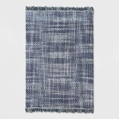 Dyed Jute Woven Rug Indigo - Threshold™