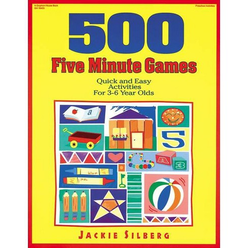 500 Five Minute Games - by  Jackie Silberg (Paperback) - image 1 of 1