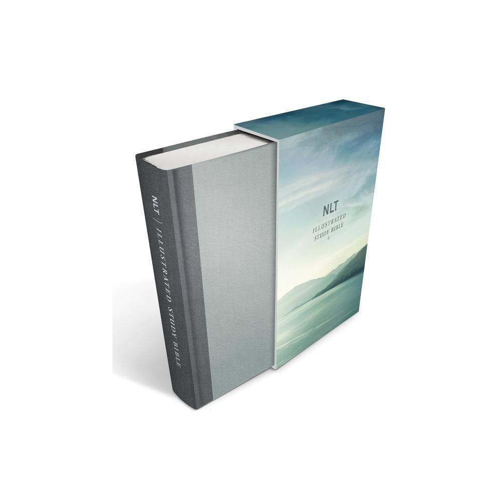 Illustrated Study Bible Nlt Deluxe Linen Edition Hardcover