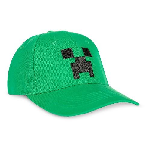 Boys  Minecraft Baseball Hat   Target 35b6a15b22
