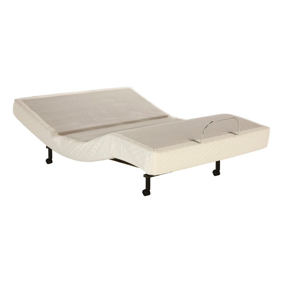 Fashion Bed Group S-Cape Adjustable Bed Frame (Queen), Gray