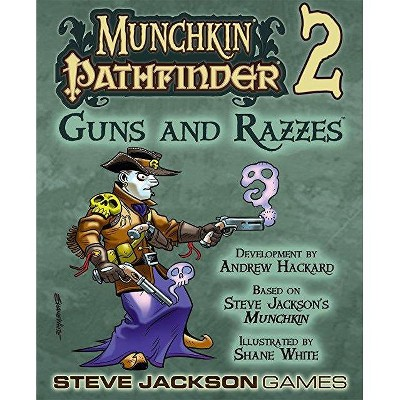 Munchkin Pathfinder 2 - Guns and Razzes Board Game