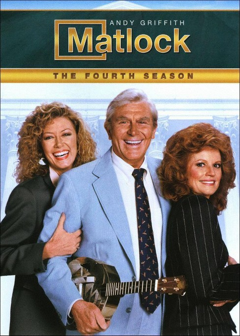 Matlock:Fourth season (DVD) - image 1 of 1