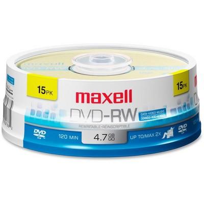 Maxell 2x DVD-RW Media - 120mm - Single-layer Layers - 2 Hour Maximum Recording Time