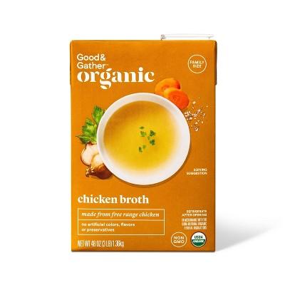 Organic Chicken Broth - 48oz - Good & Gather™