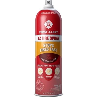 First Alert AF400 EZ Fire Spray Fire Extinguishing Aerosol Spray