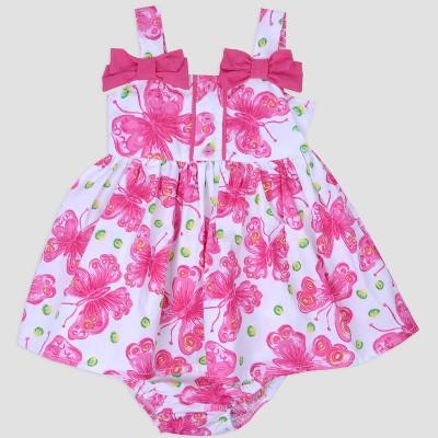 Baby Girls' Butterfly Sundress Nate & Annee™ Pink/White 6-9M
