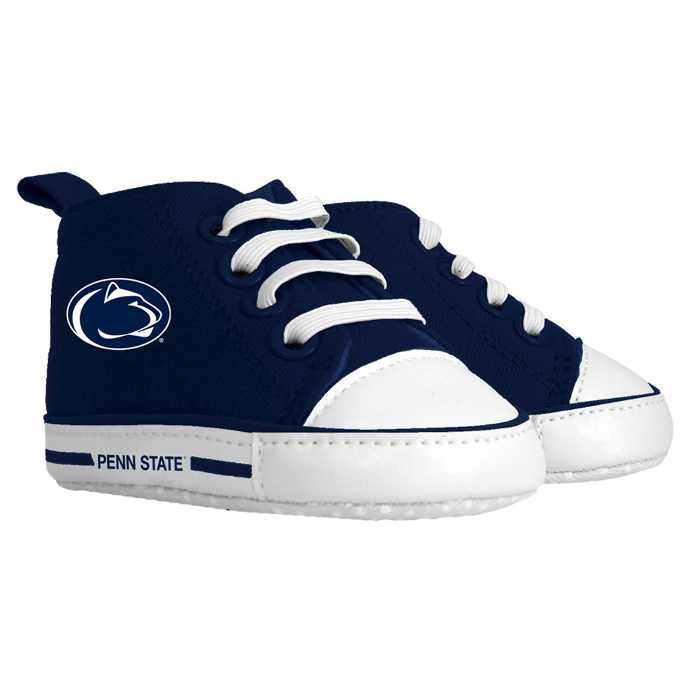 Imn Shoes Child Crib Shoes NCAA Penn State Nittany Lions 0-6 M, Kids Unisex, Size: Medium