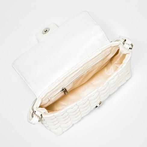 2cddb8b025 Girls  Quilted Crossbody Bag - Cat   Jack™ White   Target