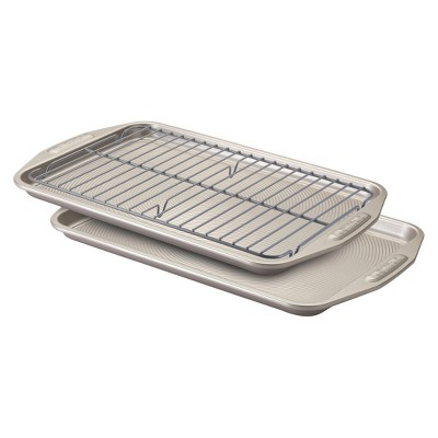 Circulon 3 Piece Non-stick Cookie Pan and Cooling Rack Set