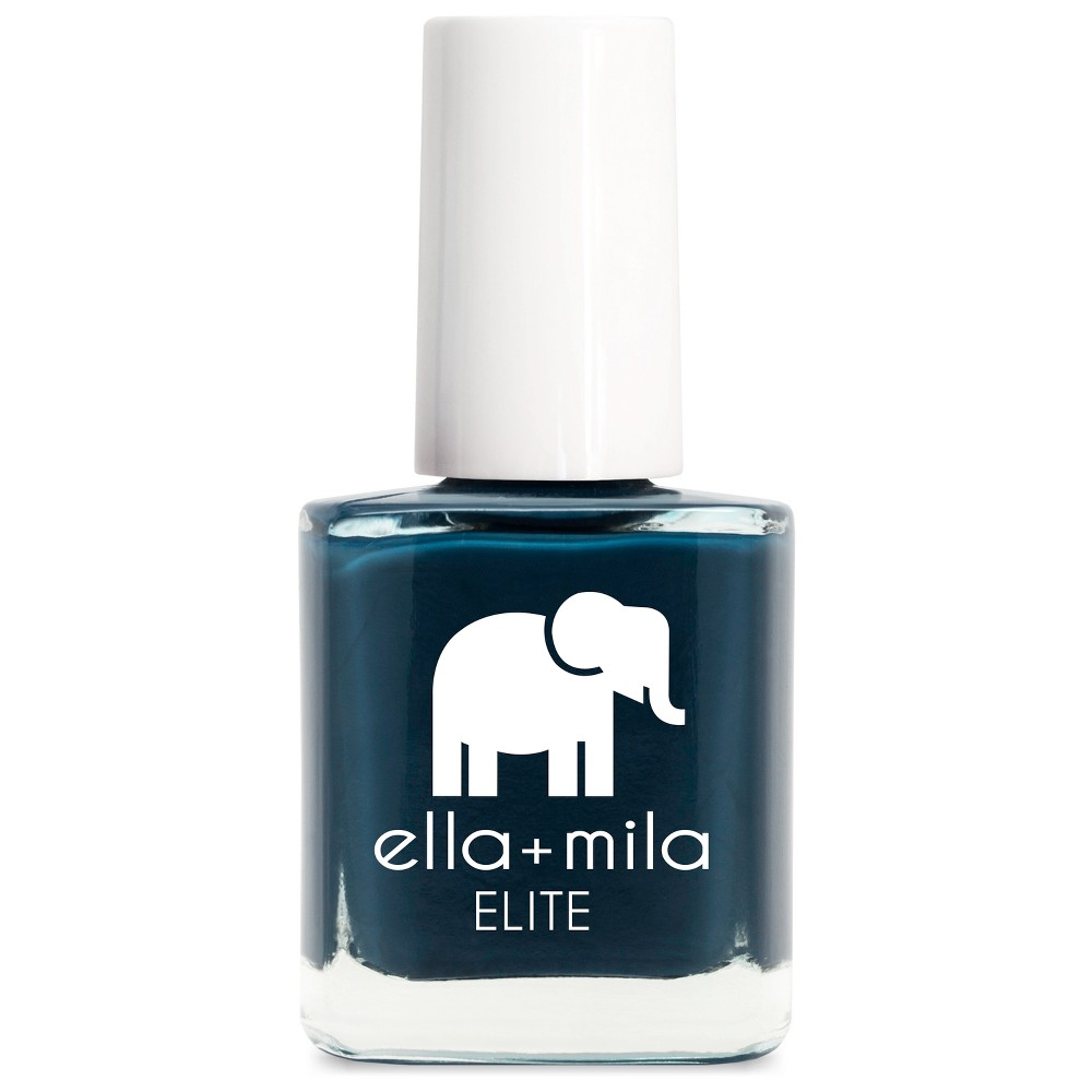 Image of Ella + Mila ELITE Collection Mediterranean Mist - 0.45 fl oz, Mediterranean Blue