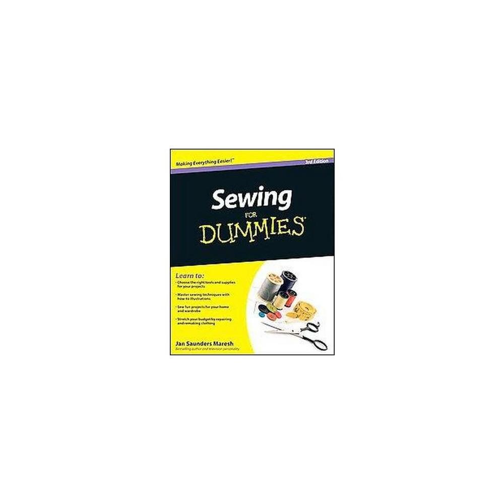 Sewing for Dummies (Paperback) (Jan Saunders Maresh)