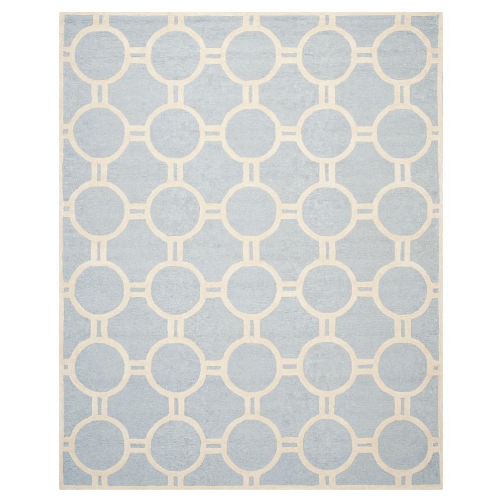 Sullivan Area Rug - Light Blue / Ivory ( 8' X 10' ) - Safavieh, Light Blue/Ivory