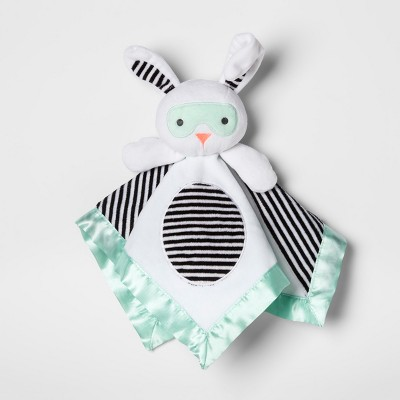 Security Blanket Superhero Bunny - Cloud Island™ White/Mint