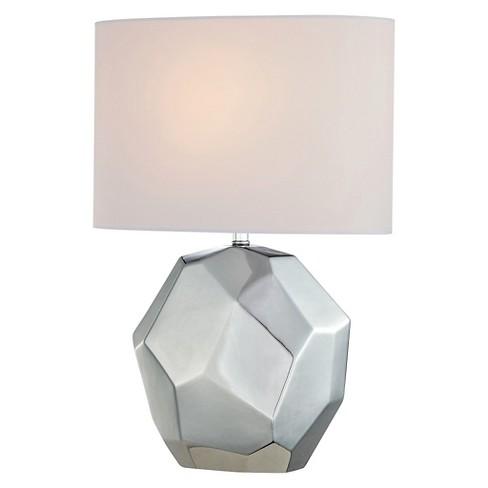 Piera 1 Light Table Lamp Chrome (Includes Energy Efficient Light Bulb) - Lite Source - image 1 of 2