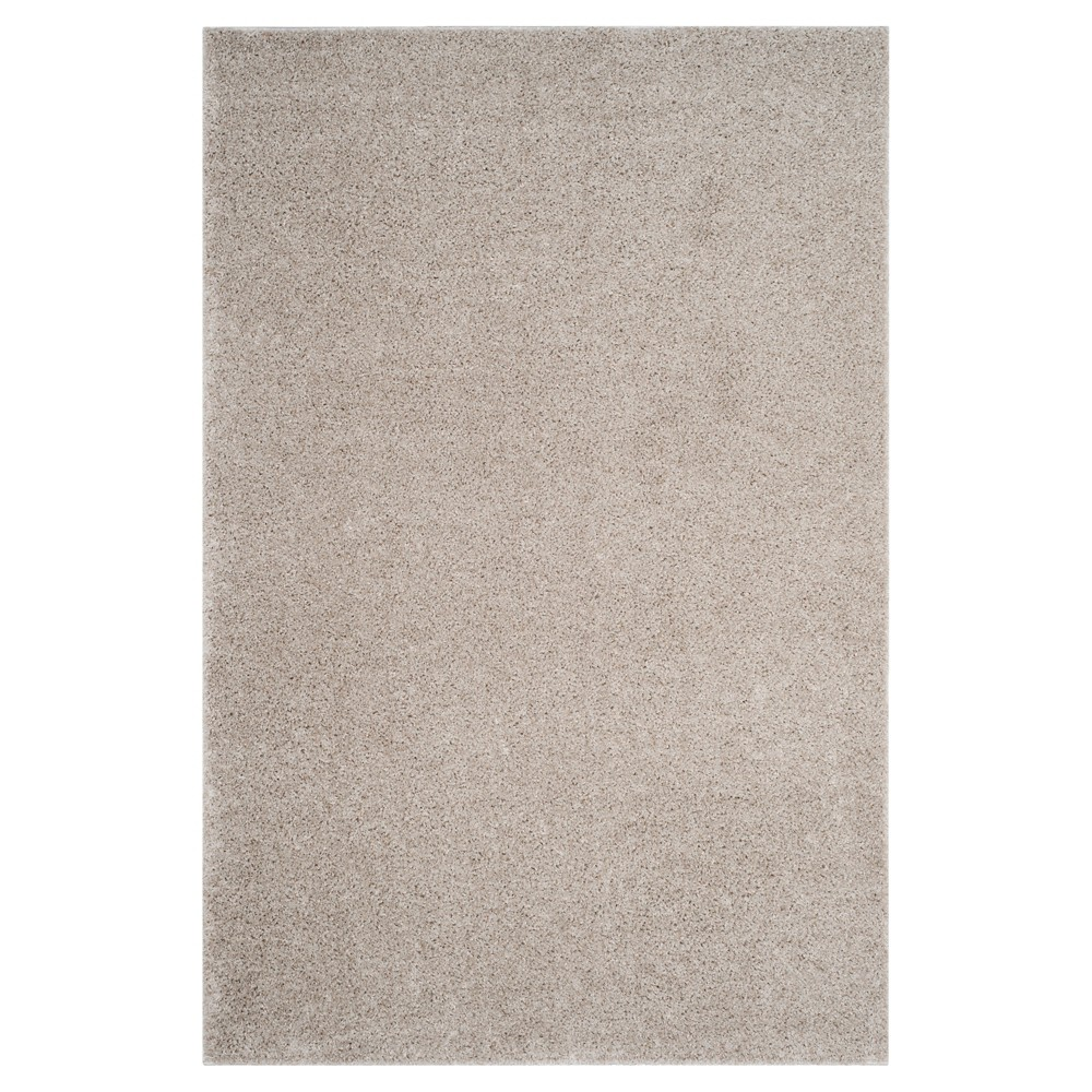 Linen Solid Loomed Area Rug - (5'1