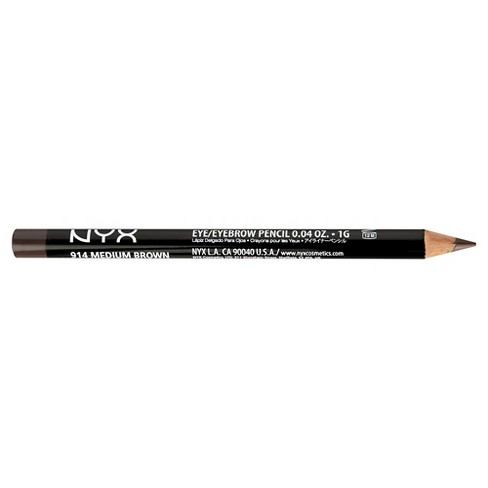 NYX Professional Makeup Slim Eye Liner Pencil - Medium Brown - 0.04oz - image 1 of 1
