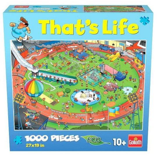 Goliath That's Life: The Sport Puzzle 1000pc image number null