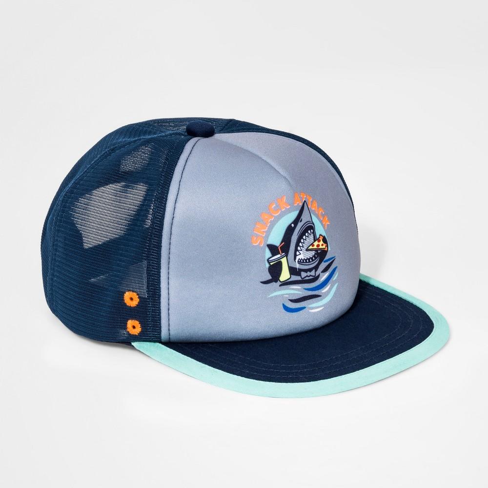 Boys' Snack Attack Baseball Hat - Cat & Jack Navy/Gray One Size