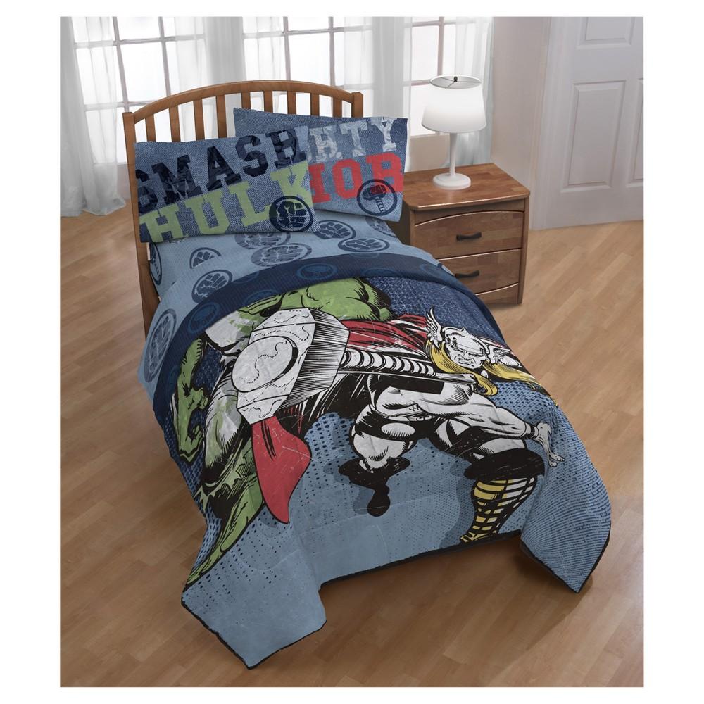 Marvel Thor Blue Comforter (Twin)