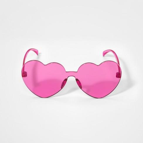 ca0d6ba31596 Girls' Heart Sunglasses - Cat & Jack™ Pink : Target