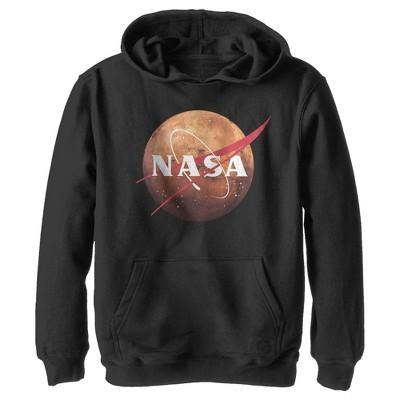 Boy's NASA Mars Logo Pull Over Hoodie