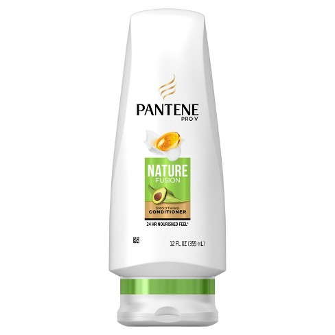 Pantene PRO-V Nature Fusion Smoothing Conditioner with Avocado Oil - 12 fl oz - image 1 of 3
