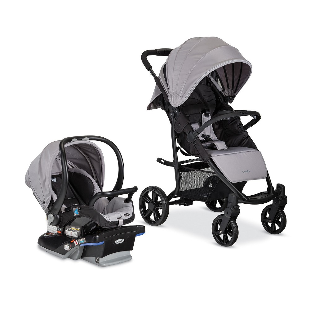 Image of Combi Shuttle Travel System - Titanium, Silver