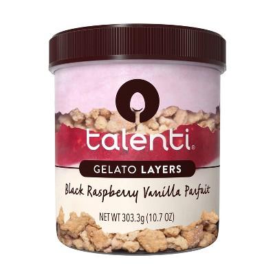 Talenti Gelato Layers Black Raspberry Vanilla - 10.7oz
