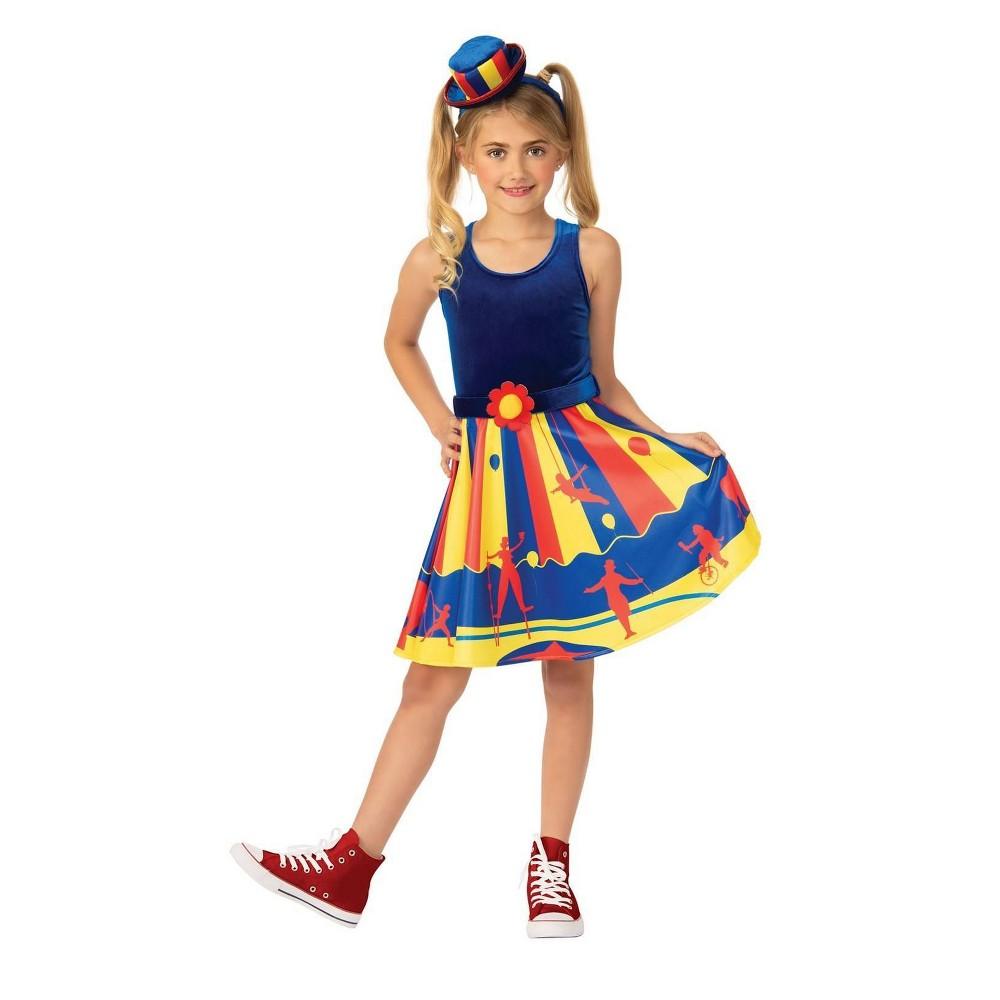 Image of Halloween Girls' Circus Halloween Costume M, Girl's, Size: Medium, MultiColored