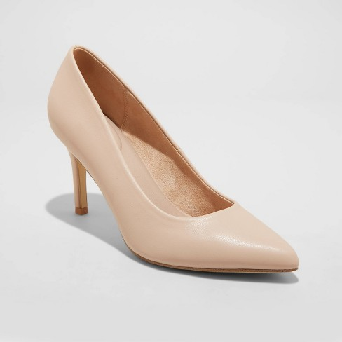 Women's Gemma Pointed Toe Heels - A New Day™ - image 1 of 3