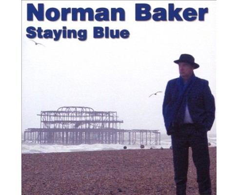 Norman Baker - Staying Blue (CD) - image 1 of 1