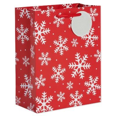 sc 1 st  Target & Snowflake Christmas Gift Bag Red - Wondershop™ : Target