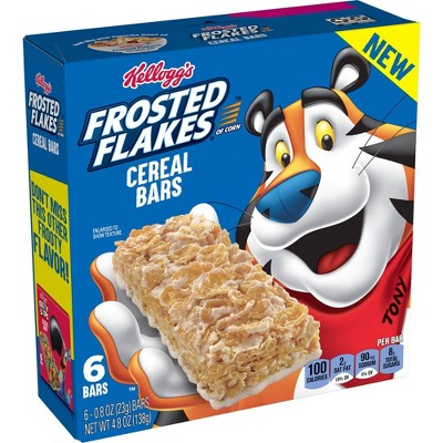 Frosted Flakes Cereal Bar -4.86oz/6ct