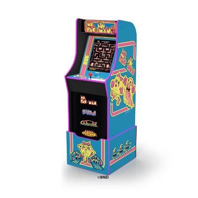 Arcade1up Ms Pac Man Arcade With Riser Target