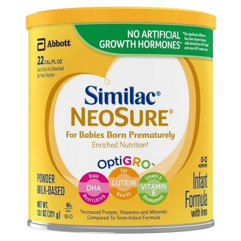 Similac NeoSure Infant Formula Powder with Iron - 13.1oz - image 1 of 7
