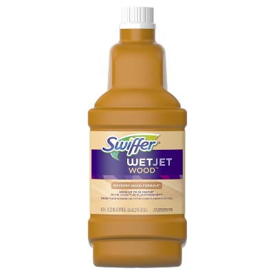 Swiffer Wet Jet Multi-purpose Hardwood Floor Cleaner Solution Refill - 1.25l