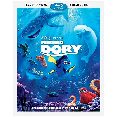 Finding Dory (Blu-ray + DVD + Digital)