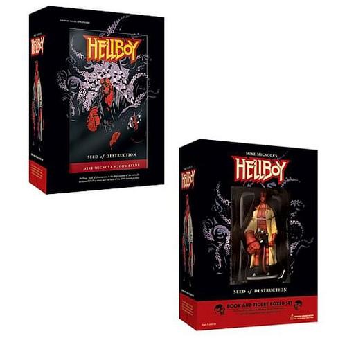 Dark Horse Comics Hellboy Seed Of Destruction Book And Figure Set - image 1 of 1