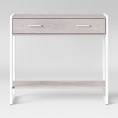 Paulo Console Table Weathered White - Project 62™