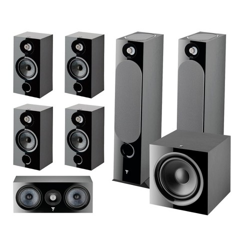 Focal Chora 7.1.2 Channel Dolby Atmos Home Theater System (Black) - image 1 of 4