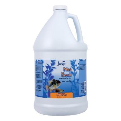 Jungle Net Soak 1 Gallon, Net Cleaner For Established Aquariums