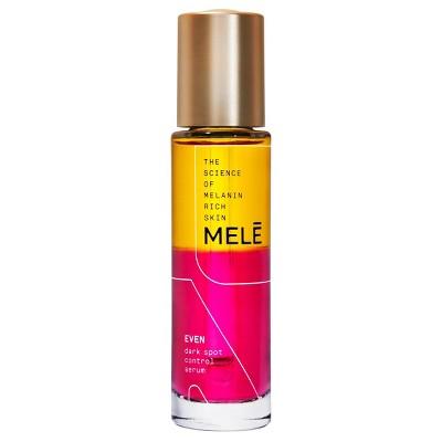 MELE Even Dark Spot Control Facial Serum for Melanin Rich Skin - 1 fl oz