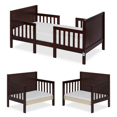 Dream On Me 3-in-1 Convertible Toddler Bed - Espresso