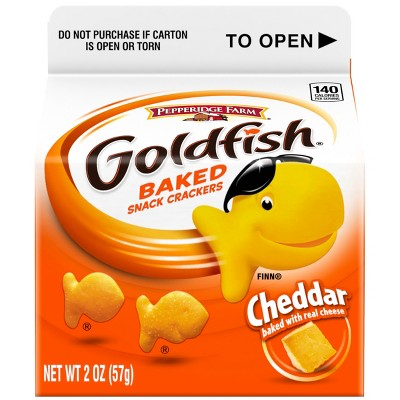 Pepperidge Farm Goldfish Cheddar Crackers - 2oz Carton
