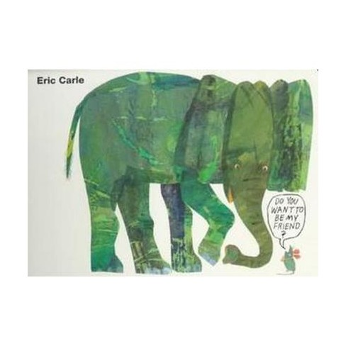 Do You Want to Be My Friend? Board Book - by  Eric Carle (Board_book) - image 1 of 1