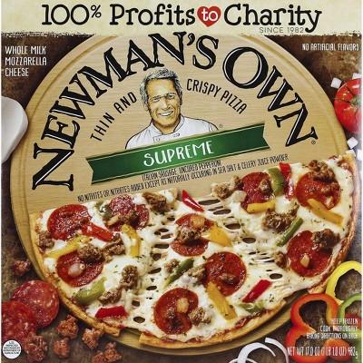 Newman's Own Thin & Crispy Supreme Frozen Pizza - 17oz