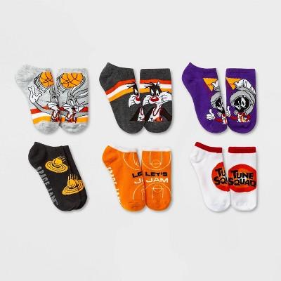 Kids' Space Jams 6pk Socks