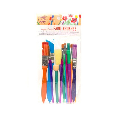 15ct Assorted Paint Brushes - Making in the Moment - image 1 of 3